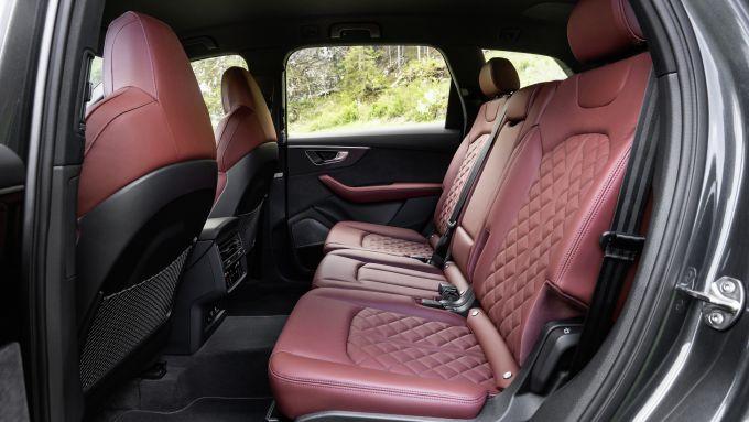 Gli interni di Audi SQ7
