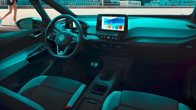 Gli interni di Volkswagen ID.3, in arrivo ad aprile