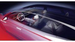 Gli interni futuristici della Volkswagen ID. Space Vizzion1