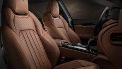 Gli interni in pelle di Maserati Royale