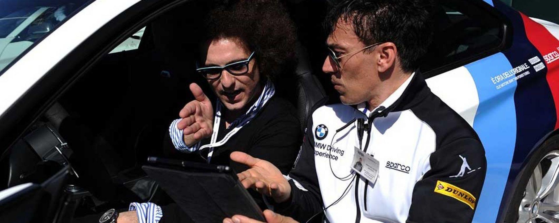 Gli istruttori della BMW vi seguiranno passo dopo passo per farvi diventare un vero pro driver
