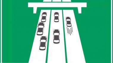 Gli italiani in autostrada
