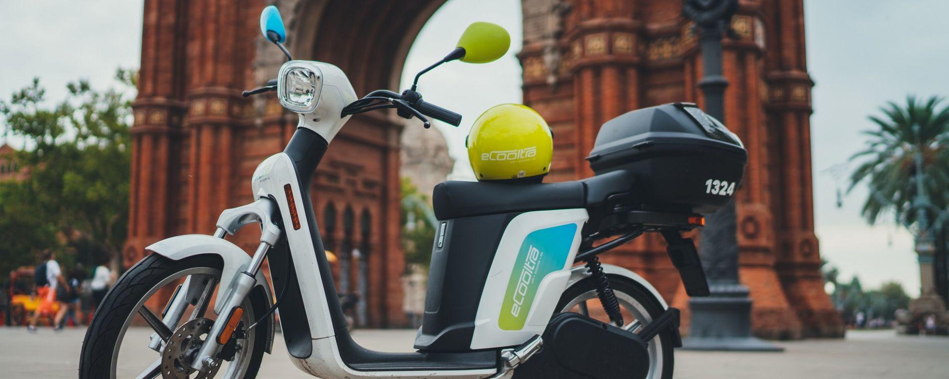 Gli scooter elettrici della società eCooltra