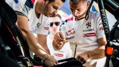 Gli ultimi accorgimenti prima della partenza - Team Peugeot Total