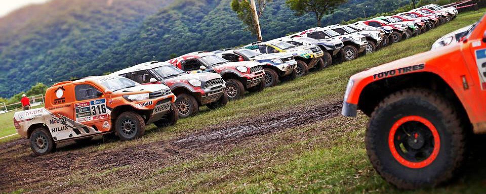 Gli ultimi preparativi per la Dakar 2017
