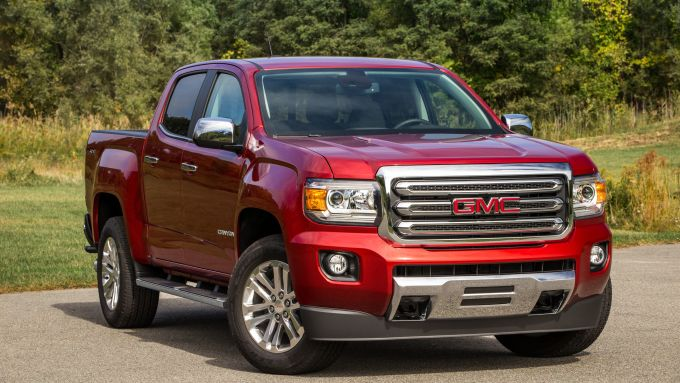 GMC Canyon: l'anteriore