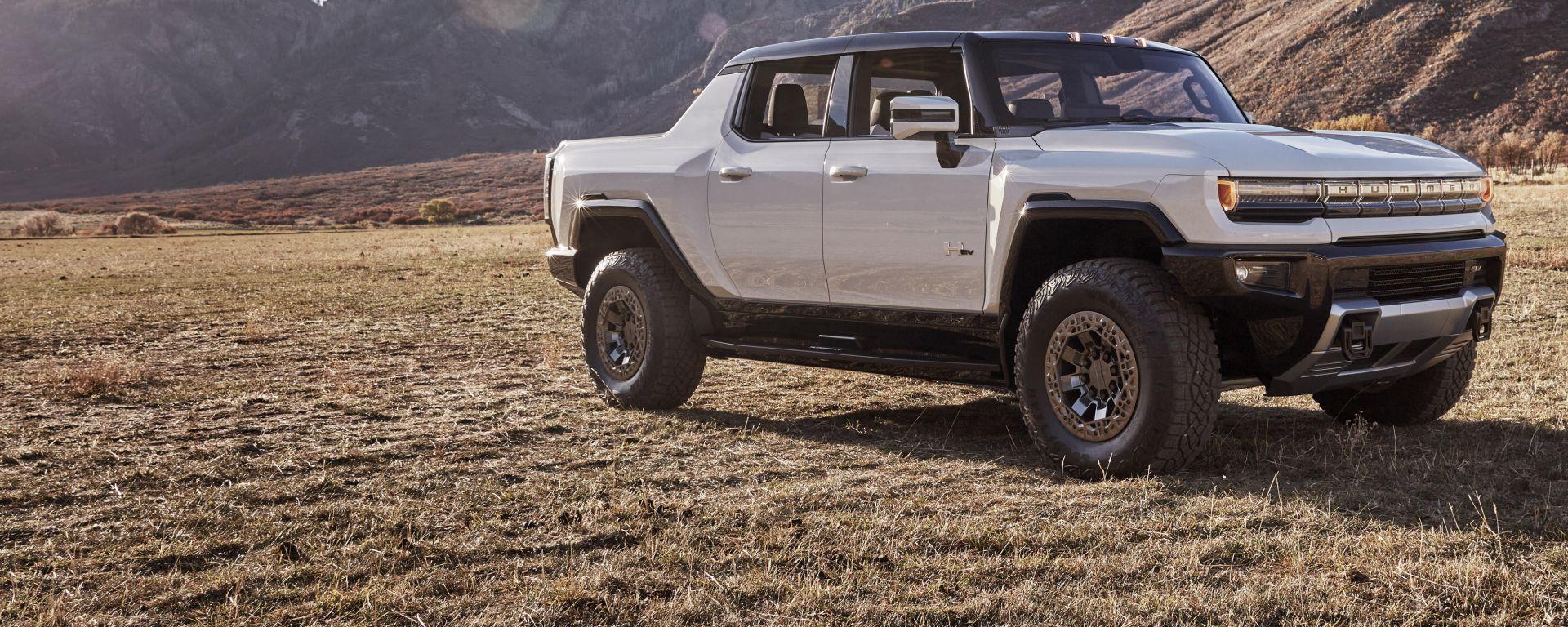 GMC Hummer EV: la prima versione arriva nel 2022