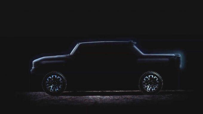 GMC Hummer EV: sarà mostruoso, anche elettrico
