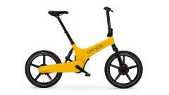 GoCycle G3+: colorazione giallo