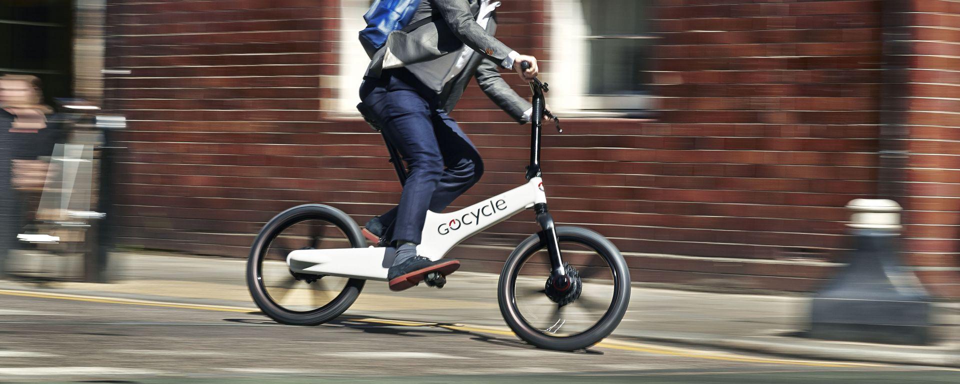Gocycle G3, e-bike pieghevole da città