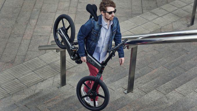 Gocycle G3, peso di 16,5 kg