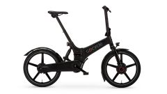Gocycle GX 2020, colore nero, visuale laterale