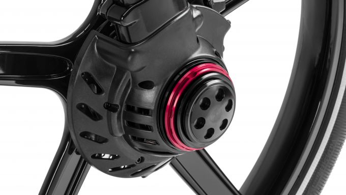 Gocycle GX 2020: il sistema di sgancio rapido delle ruote