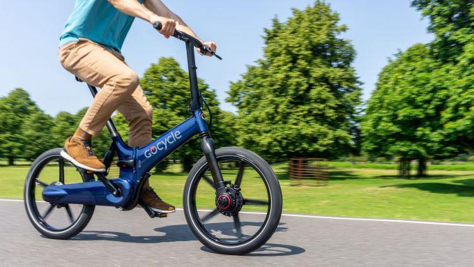 Gocycle GX 2020 in azione
