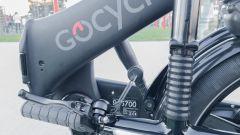 GoCycle GXi: particolare del meccanismo di chiusura