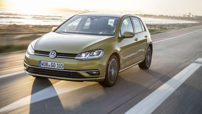 Golf 7: offerte Volkswagen a luglio