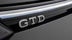 Golf GTD 2020: il logo sulla calandra