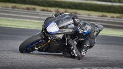 Gomito a terra con la Yamaha YZF-R1M  2020