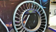 Goodyear Aero, dettaglio del cerchio che funge da rotore