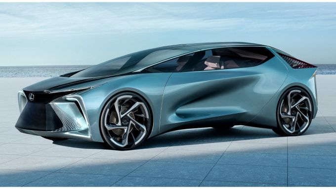 Goodyear e Lexus: il concept SF-30 Electrified