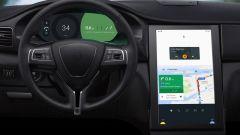 Google ha mostrato il futuro di Android Auto grazie anche a una speciale Maserati Ghibli con monitor 4K