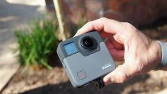GoPro Fusion: vista frontale