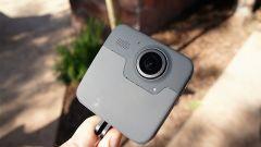 GoPro Fusion: vista posteriore