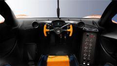 Gordon Murray T.50 Niki Lauda: la plancia della macchina