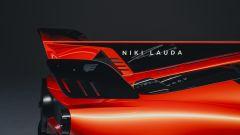 Gordon Murray T.50 Niki Lauda: l'omaggio a Niki Lauda sulla pinna posteriore