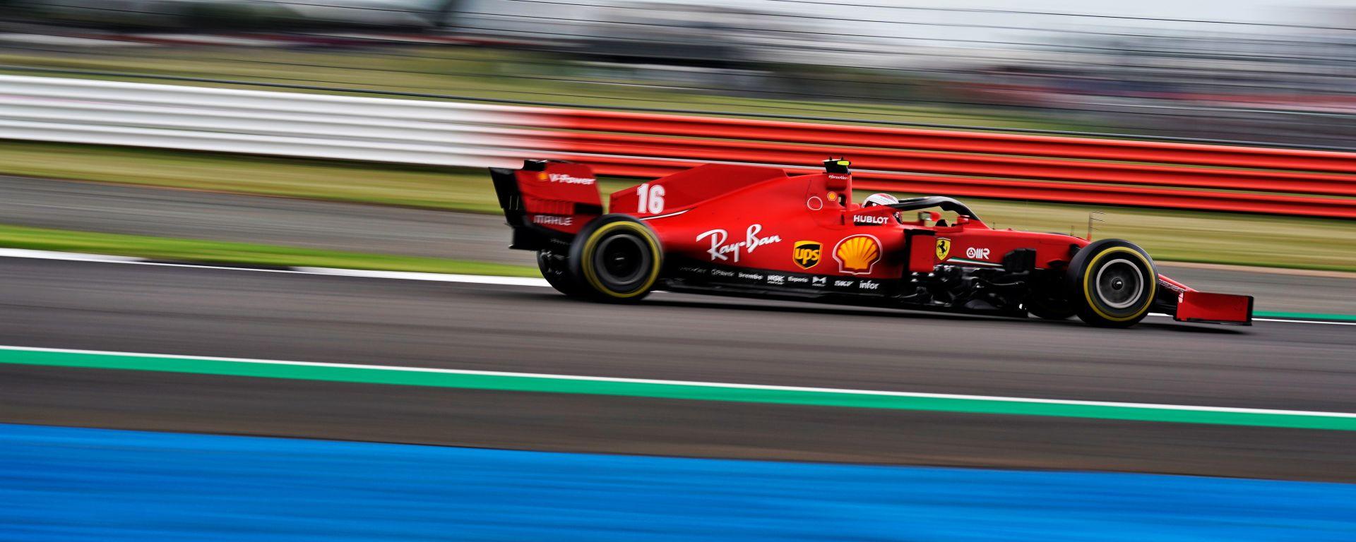 GP 70° Anniversario F1, Silverstone: Charles Leclerc (Ferrari)
