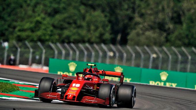 GP 70° Anniversario F1, Silverstone: Charles Leclerc (Scuderia Ferrari)