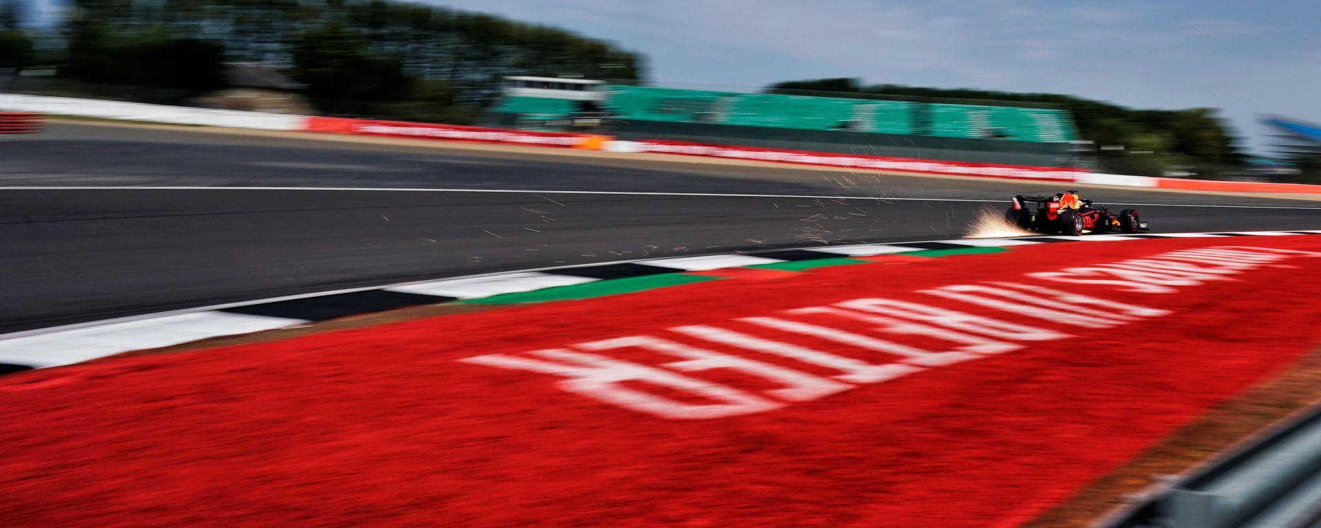 GP 70° Anniversario F1, Silverstone: Max Verstappen (Red Bull Racing)
