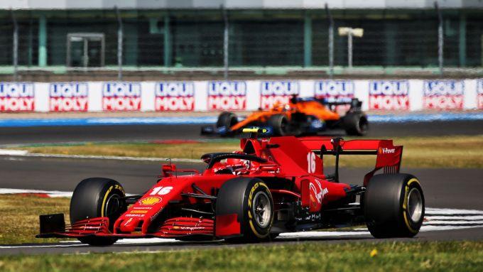 GP 70° Anniversario, Silverstone: Charles Leclerc (Ferrari)