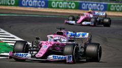 GP 70° Anniversario, Silverstone: Nico Hulkenberg e Lance Stroll (Racing Point)