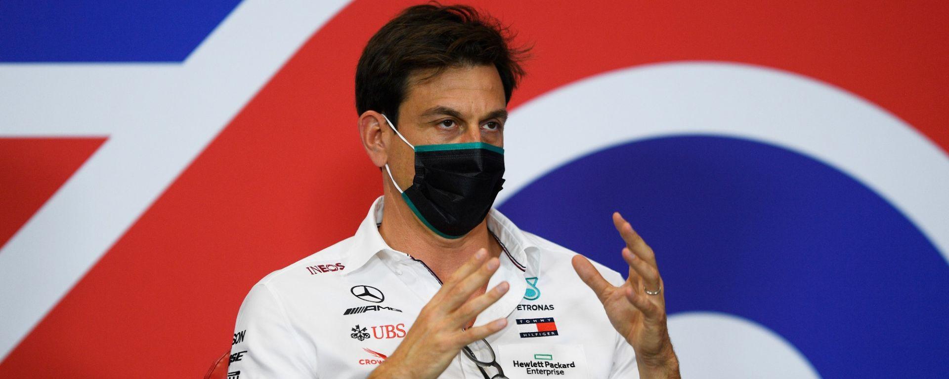 GP 70° Anniversario, Silverstone: Toto Wolff (Mercedes)