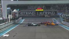 GP Abu Dhabi 2018 - Alonso, Hamilton e Vettel