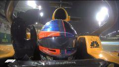 GP Abu Dhabi 2018 - Fernando Alonso (McLaren) saluta
