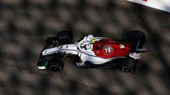 GP Abu Dhabi 2018, FP1, Antonio Giovinazzi in azione con la Sauber