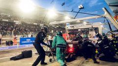 GP Abu Dhabi 2018, il pit stop anticipato di Hamilton (Mercedes)