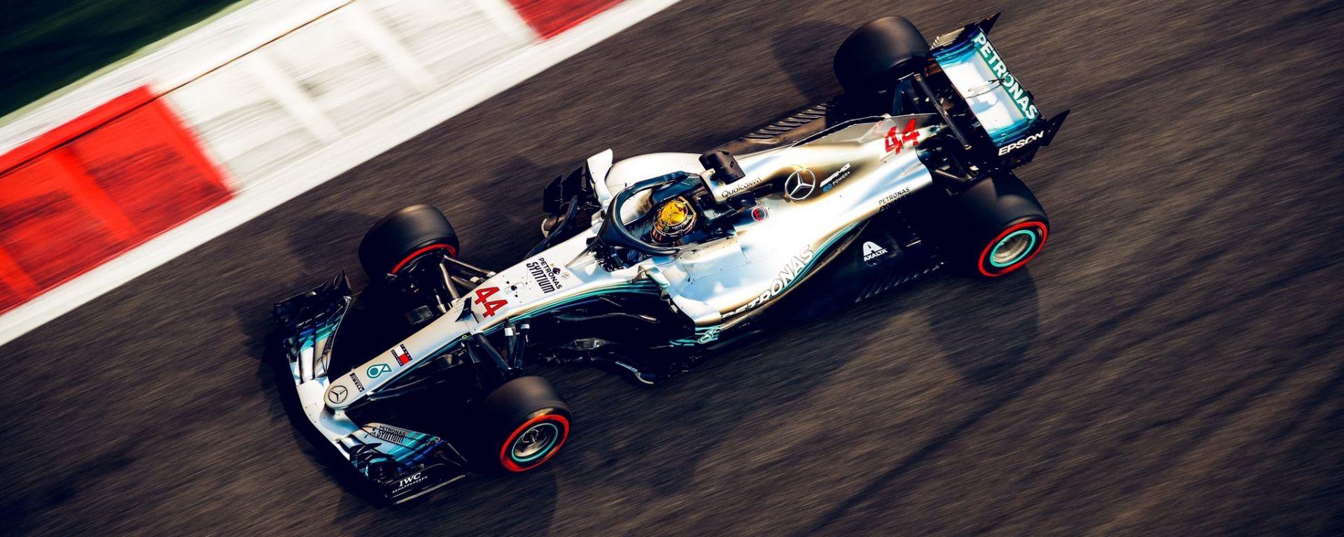 Gp Abu Dhabi 2018, Lewis Hamilton (Mercedes)