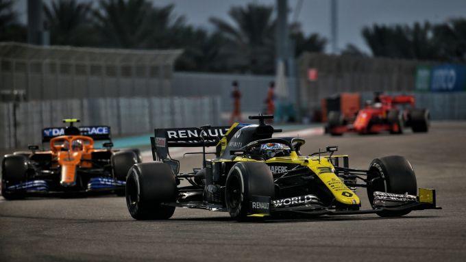 GP Abu Dhabi 2020, Yas Marina: Daniel Ricciardo (Renault)
