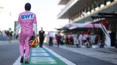 GP Abu Dhabi 2020, Yas Marina: Sergio Perez (Racing Point), unico ritirato della gara