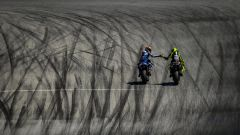 GP Americhe 2019, Alex Rins (Suzuki), Valentino Rossi (Yamaha)