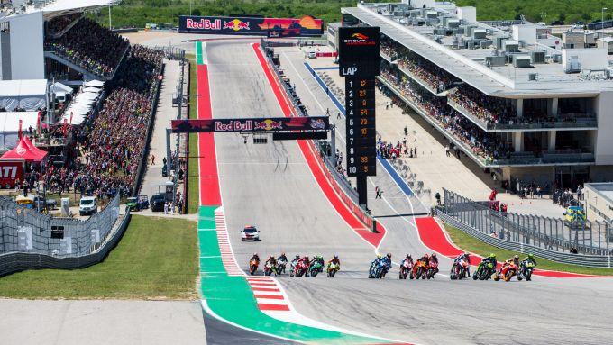 GP Americhe 2019, Austin, partenza