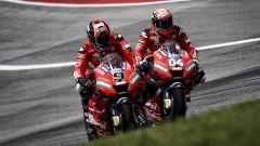 GP Americhe 2019, Danilo Petrucci e Andrea Dovizioso (Ducati)