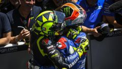 GP Americhe 2019, Valentino Rossi (Yamaha), Alex Rins (Suzuki)