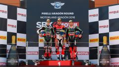 Gp Aragon: Tom Sykes in pole, ma Chaz Davies domina in gara 1 - Immagine: 3