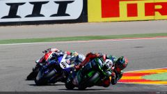 Gp Aragon: Tom Sykes in pole, ma Chaz Davies domina in gara 1 - Immagine: 4
