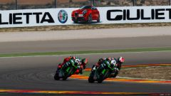 Gp Aragon: Tom Sykes in pole, ma Chaz Davies domina in gara 1 - Immagine: 5