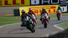 Gp Aragon: Tom Sykes in pole, ma Chaz Davies domina in gara 1 - Immagine: 11
